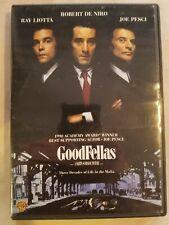 Goodfellas (Dvd, 1997) Ray Liotta, Robert De Niro, Joe Pesci * Ships Fast!