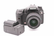 Pentax K K20D 14.6MP Digital SLR Camera - Black (Kit w/ DAL 18-55mm AL Lens)