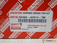 Toyota Echo 2001-2005 Front Ceramic Brake Pad Set Genuine OEM 04465-AZ014-TM