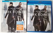 THE DARK TOWER BLU RAY + SLIPCOVER SLEEVE FREE WORLDWIDE SHIPPING NEW RELEASE