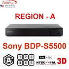 Sony BDP-S5500 Region A Blu-Ray and All Multi Region Free DVD Player - 3D Player