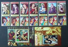 Eq. Guinea - Painting, 7 stamps and 2 S/S, MNH, GEQ 162