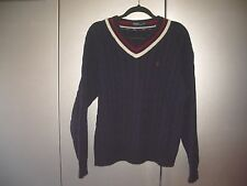 Ralph Lauren College Pullover, Gr.XL in blau (01202)