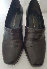 Franco Sarto Women's Ladies Brown travail Occasion Chaussure US 7.5 m uk taille 5