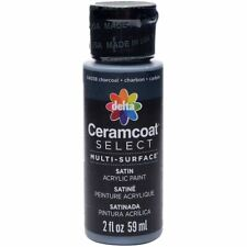 Ceramcoat Select Multi-Surface Paint 2oz-Charcoal -4000-04038