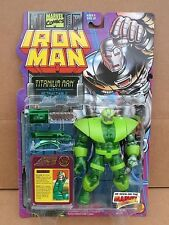 IRON MAN Series 3 TITANIUM MAN Marvel Action Figure Toy Biz 1995 Unopened MIP