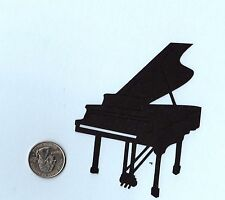 "Piano Die cuts - Grand Piano Die Cuts -, 4"" Tall, 2 pcs. - You choose color"