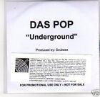 (D831) Das Pop, Underground - DJ CD
