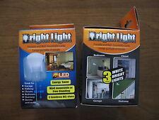 WIRELESS LED STICK UP LIGHT BULB PORTABLE 3 LED LIGHT BULB