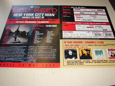 LOU REED NEW YORK CITY MAN!!!!!!!!RARE FRENCH PRESS/KIT
