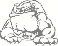 Mack Bulldog, Car, Truck, Ute, Windscreen, Sticker Decal 190 x 150mm