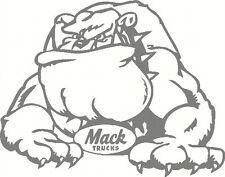 Mack Bulldog, Car, Truck, Ute, Windscreen, Sticker Decal 190 x 150mm