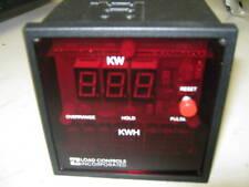 LOAD CONTROLS INC KWH-2 DIGITAL POWER- ENERGY METER