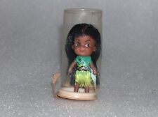 Cute Vintage Mis Africa Small Rubber Doll, Made In Hong Kong, 1960-70