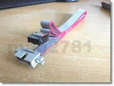 ** 10 WAY RIBBON CABLE WITH IDC MALE/FEMALE CONNECTORS - 1 METRE LONG **