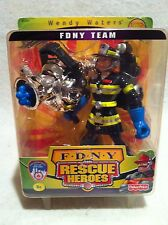 Rescue Heroes  FDNY  Wendy Waters Factory Sealed!