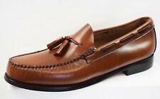 Homme BASS Weejuns Larkin Tassel Loafers Slip on texturé NEUF