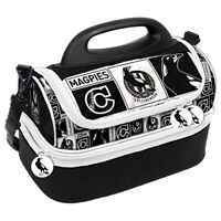 AFL Lunch Cooler Bag Box - Collingwood Magpies - Aussie Rules Football - BNWT