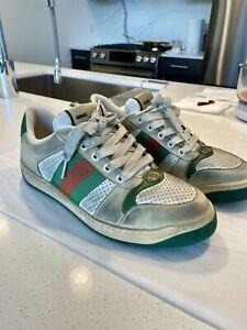 Gucci Screener leather sneaker mens