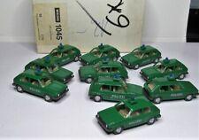 Wiking 1:87 VW Golf I Polizei OVP 1045 - 10 Stück im Händlerkarton