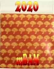 "100 PACK Magic Mushrooms Baggies 2.0x2.0"" Apple Ziplock 2020 mini bags"