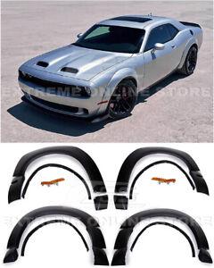 For 15-Up Dodge Challenger SRT Hellcat | Demon Style Side Fender Flare Wide Body