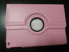 iPad Air 1 Light Pink Case Cover PU-Leather 360 Rotating Cases