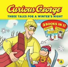 Curious George Three Tales for a Winter's Night (CGTV)-ExLibrary