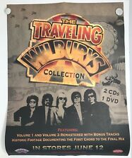 "Traveling Wilburys Collection 18""x24"" PROMO Poster EXC COND / FREE USA SHIP"