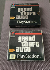Jeu Sony Playstation PS1 GTA Edition Collector complet 3 notices Pal FR [RARE]