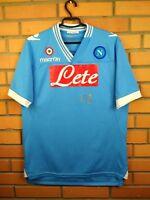 Napoli Jersey 2012 2013 Home LARGE Shirt Soccer Football Macron Trikot Maglia