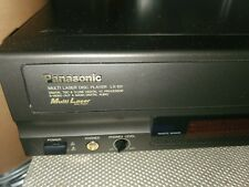 Vintage Panasonic LX-101 Multi Laser Disc Player Works! Multilaser. (No Remote)