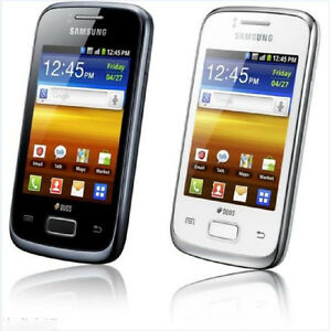 Samsung Galaxy Y Duos S6102 512MB Dual SIM Android 3G 3.15MP Wifi Touchscreen