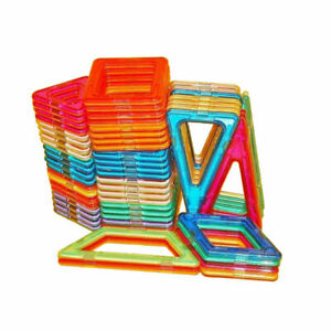 Magnetic Construction Blocks 62 Pieces Toy Magnetic Building Blocks for Children