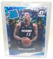 2017-18 Donruss Optic Rated Rookie Fast Break Holo #187 Bam Adebayo RC ROOKIE SP