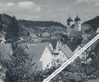 Wiesensteig an der Fils - Ortsansicht - um 1955         H 9-5