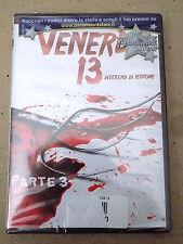 "DVD ""VENERDI' 13 WEEKEND DI TERRORE"" PARTE 3 HORROR SIGILLATO!- A8"