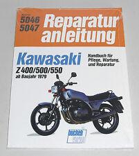 Reparaturanleitung Kawasaki Z 400 / Z 500 / Z 550 ab Baujahr 1979