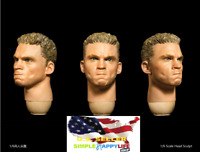 Facepoolfigure 1/6 Soldier Male Head Sculpt Expression for 12'' HOT TOYS ❶USA❶