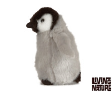 New Living Nature Soft and Cuddly 17cm Penguin Chick - AN427