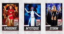 2019 MARVEL X-MEN BARBIE SET OF MYSTIQUE, STORM AND PHOENIX MATTEL NEW IN BOX