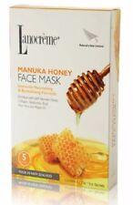 Lanocreme Manuka Honey Intensely Nourishing & Revitalising Formula Face Mask 5pc