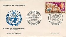 FIRST DAY COVER / PREMIER JOUR HAUTE VOLTA / JOURNNE METEOROLOGIQUE 1965