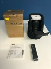 Nikon 24-70mm Nikkor AF-S f/2.8G ED Lens - Mint Condition - Free Shipping