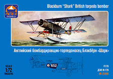 ARK MODELS 72008 BRITISH TORPEDO BOMBER BLACKBURN SHARK SCALE MODEL KIT1/72 NEW