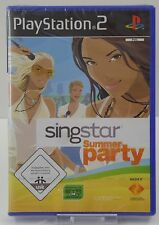 PS2 Playstation 2 - Singstar Summer Party - NEU NEW OVP