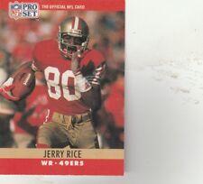 1530e89e42f FREE SHIPPING-MINT-1990 Pro Set Football  295 Jerry Rice SF 49ers