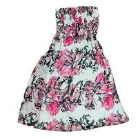 City Chic Strapless Maxi Floral Dress Plus Size Large Women's 20