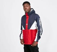 £99 Helly Hansen Urban Windbreaker 2.0 Jacket Medium M Blue White Red Retro