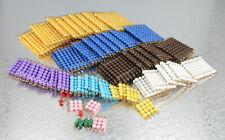 Montessori Colored Bead Squares Mt0008